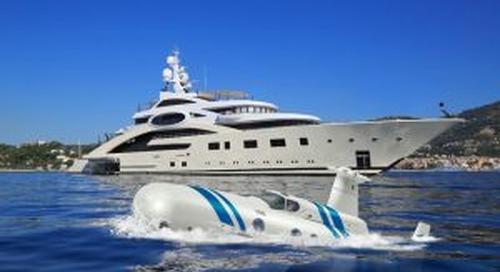 Neyk luxury submarine in build