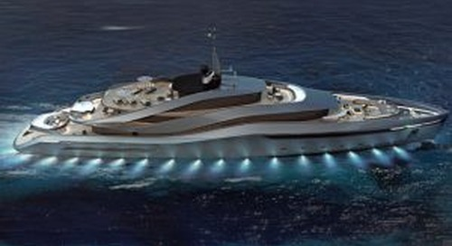 Pininfarina and Rossinavi create 70m concept Aurea