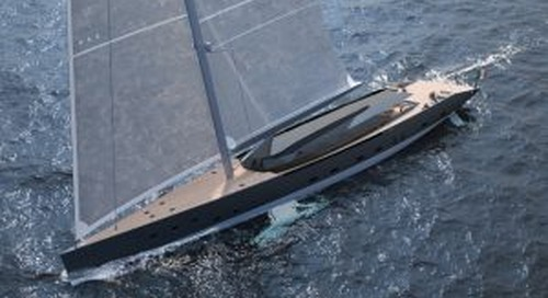 Gemma: 55-metre sloop with a glass deckhouse