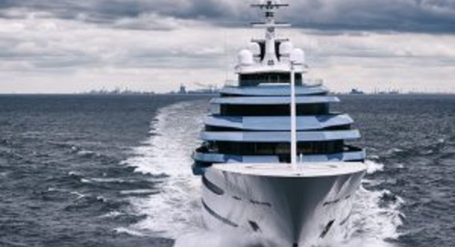 110-metre Jubilee delivered and on the move