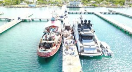 Burgess joins the Caribbean relief effort