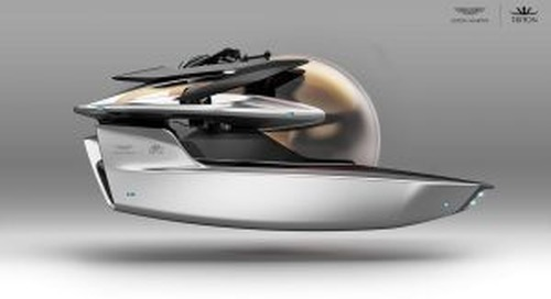 First a powerboat now Aston Martin unveils its luxury $4M submarine