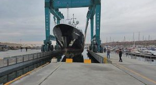 West Istanbul Marina hauls out 'Sequel P'