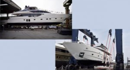 Sanlorenzo launches two yachts simultaneously