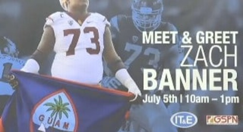 2nd-ever Chamorro drafted into NFL Zach Banner is on Guam