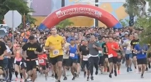 More than 2,400 turn out for Taotaomona 5K race