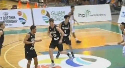 Team Guam squares off against powerhouse New Zealand