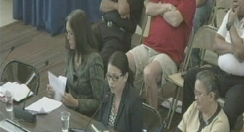 Bill 226 was up for Public Hearing today