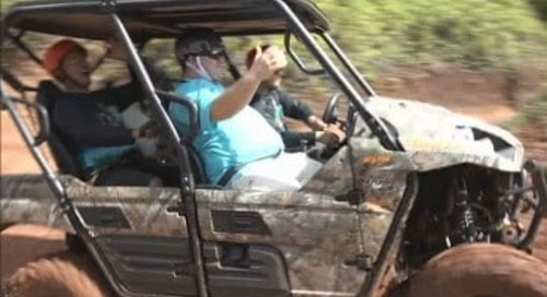 Is off-roading dangerous to Guam's ecosystem?