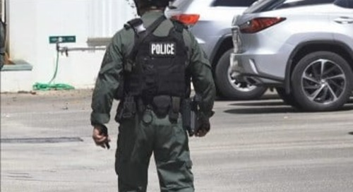 Police make drug raid at Harmon condo complex