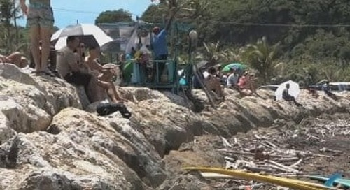 Talofofo Bay Surf Classic held over the weekend