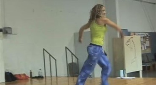 Zumba instructor training at Synergy Studios