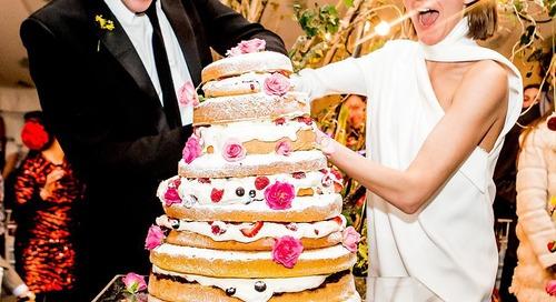 10 Inspirasi Wedding Cake Kekinian