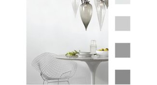 Color of the Month: White and Gray