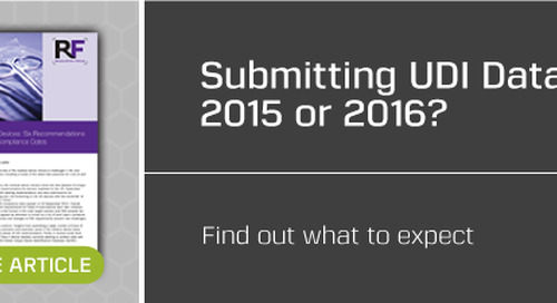 2015 UDI Compliance Date Extended