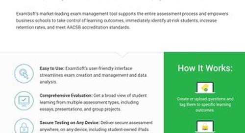 ExamSoft_BusinessSchool_OnePager