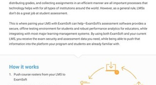 ExamSoft_AND_LMS_OnePager