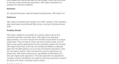 HMV Japan Case Study