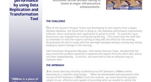 Cheshire County Council Case Study