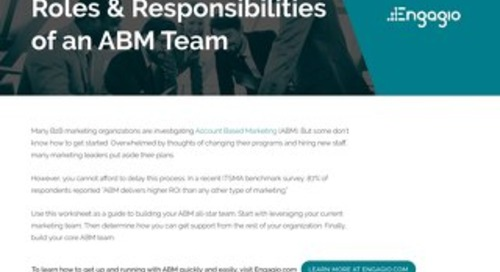 ABM Roles and Responsibilities  |  Engagio