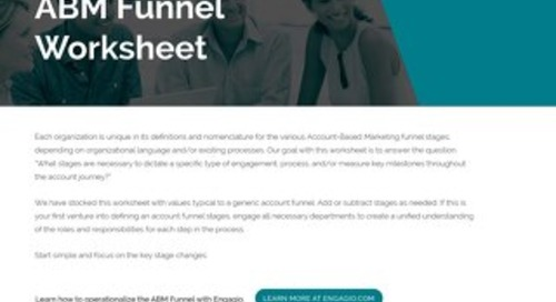 ABM Funnel  |  Engagio