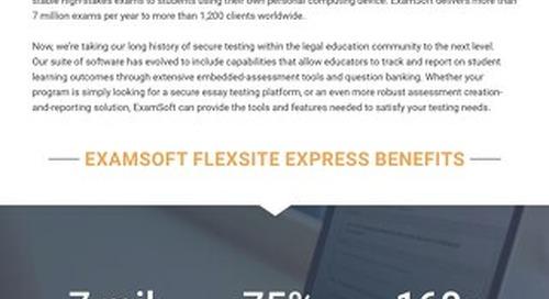 ExamSoft FlexSite Express