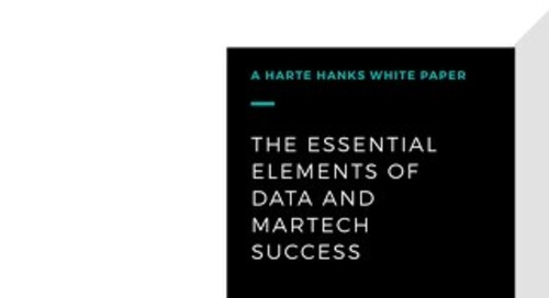The Essential Elements of Data and MarTech Success