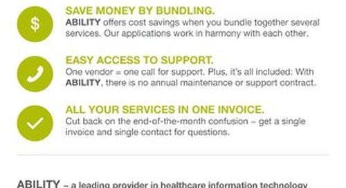 ABILITY Advantage Benefits to Providers