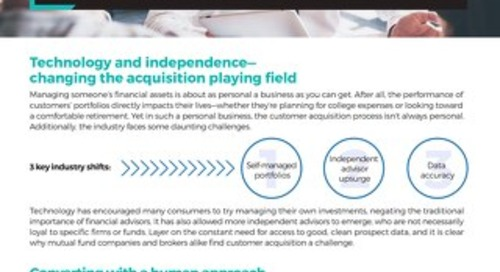 The 5 Pillars for Wealth Management: Solution Overview