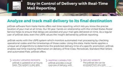 Stay In Control of Delivery with Real-Time Mail Reporting
