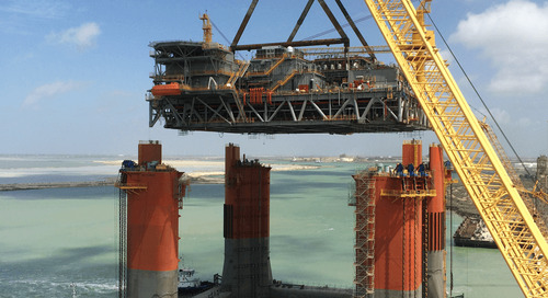 Deepwater Waterflood Design for Topsides