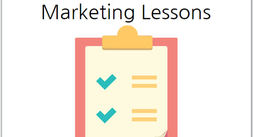 2014's Top 5 Content Marketing Lessons Learned