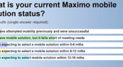 5 Considerations for Successful Maximo Mobility - Webcast