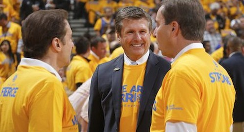 After Dream Season, Warriors' Rick Welts to Share Title Story at Dreamforce