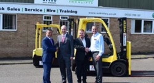 Briggs Equipment acquires forklift dealer