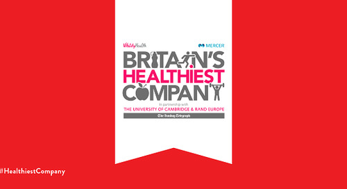 Keeping employees healthy: an interview with Clare Sicklen, HR Director, Johnson & Johnson Consumer