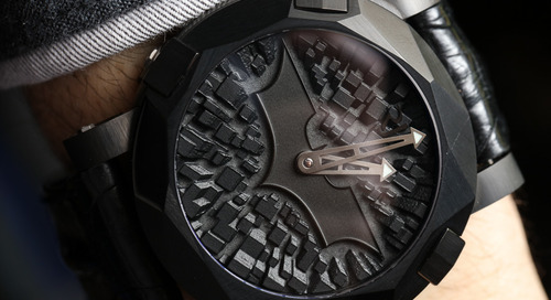 Romain Jerome Watch Honours the Caped Crusader