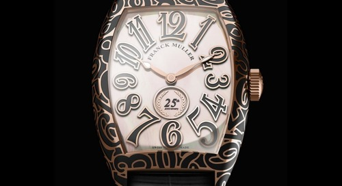 Special Edition Cintree Curvex Marks Franck Muller's 25th Birthday