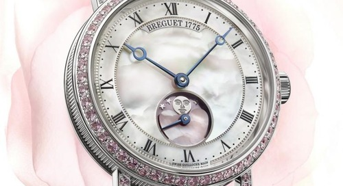 Breguet Unveil Blushing Classique Special Edition Watch