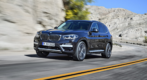 BMW Add Power and Elegance to Latest X3 Model