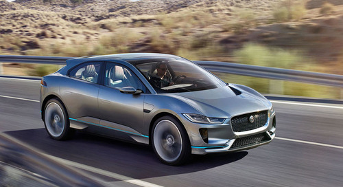 Jaguar I-Pace Voted Most Anticipated Car of 2018