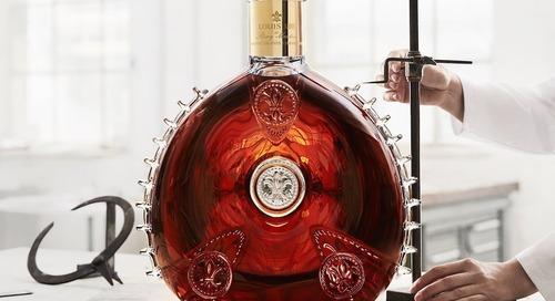 Remy Martin Crystal Decanter on Display in Beijing