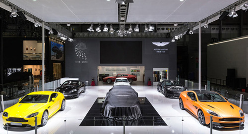Aston Martin to Open New China Dealership