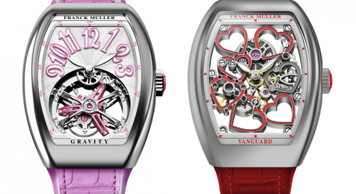 Franck Muller Unveils New Vanguard Watches for Women