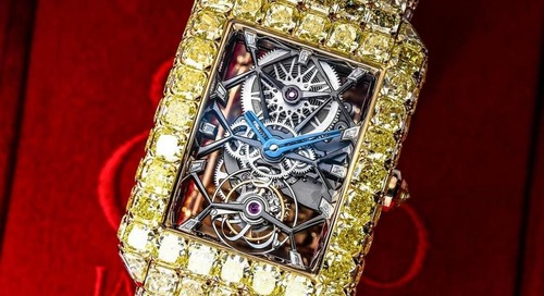 "Jacob & Co Launch $6m Yellow Diamond ""Millionnaire"" Watch"