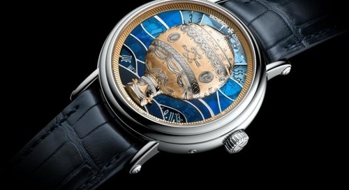 Introducing the Métiers d'Art Les Aérostiers Collection by Vacheron Constantin