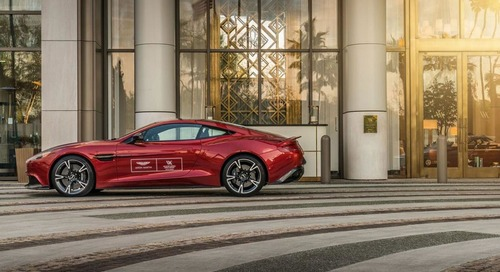 Waldorf Astoria Beverly Hills Offers Aston Martin to Guests