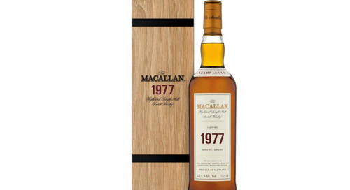 Macallan Launch Limited Edition 1977 Fine & Rare Vintage Whisky