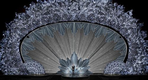 45 Million Swarovski Crystals Dazzle Audiences at Academy Awards
