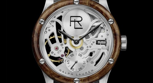 Ralph Lauren Launches Automotive Skeleton Stainless Steel Edition